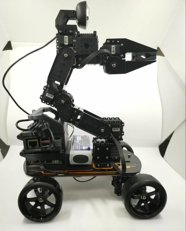 影像識別手臂車載具 1